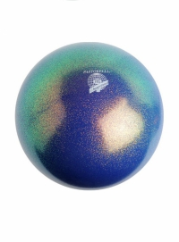 Мяч PASSTORELLI glitter HV синий океан